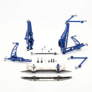 Nissan 350Z Front Drift Angle Lock Kit with Rack Relocation