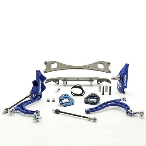 Nissan S14  S15 Front V2 Drift Angle Lock Kit with Rack Relocation