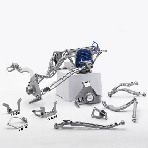 BMW E36 Rear Rally Suspension kit for E36 188Diff