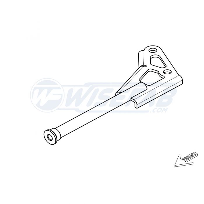 toyota gt86 front right subframe support Toyota GT 86 Logo