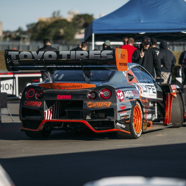 Cole Powelson Wisefab Nissan GTR R35 Suspension
