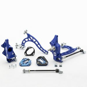 Nissan S13 Front V2 Drift Angle Lock Kit with Rack Offset Spacers