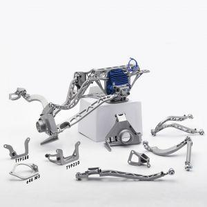 BMW E36 Rear Rally Suspension kit for E32 210Diff