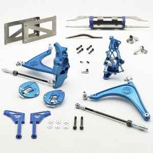 Subaru BRZ Front Lock Kit for Lexus IS Rear Rack